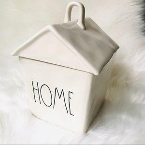 NWT Rae Dunn HOME Cookie Jar Storage Bin